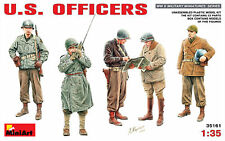 Miniart 35161 - 1/35 Seconde Guerre Mondiale US Officers - Neuf
