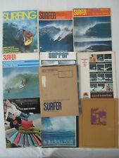8X Vintage 1960s / 70s Surfing Surfer Surf Magazines Issues - Lot As Is