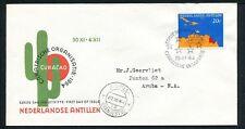 Ned. Antillen FDC E32_ 5M, met adres, Aruba Oranjestad ;