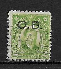 Philippines ,Usa, 1917 , Official , Jose Rizal , 2c Stamp , Perf 11 , Used