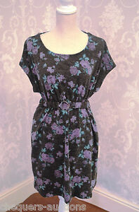 Size 10 Flower Patterned  Dress