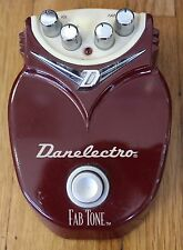 Danelectro Fab Tone Distortion Guitar Effects Foot Pedal Fabtone Switch FX