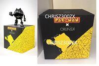 PAC-MAN x Orlinski Statue Figure Vinyl Official Resin Sculpture Black Bandai NES