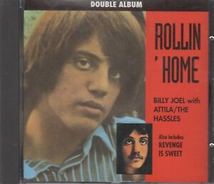 """Billy Joel & Attila/The Hassles """"Rollin' Home"""" NEW CD - 14 Tracks Posted From UK"""