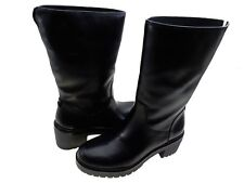 Michael Kors Womens Whitaker Mid Calf Side Zip Pull On Casual Fashion Boots