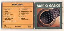 Cd MARIO GANGI Io li suono così - Fonit Cetra 1989 No barcode Chitarra Guitar