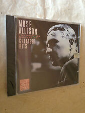 MOSE  ALLISON CD GREATEST HITS OJCCD-6004-2 1988 JAZZ