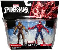 """Marvel Legends Marvel's Shocker & Spider-Man Action Figures MIB 3.75"""" Inch Toys!"""