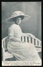 597898) AK Kronprinzessin von Preußen gel. 1916