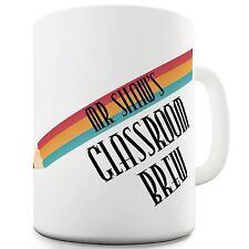 Twisted Envy Personalised Teachers Name Classroom Brew Ceramic Mug
