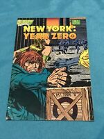 New York Year Zero #1 VF 1988 Eclipse Comics No. 1 First Issue