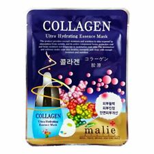 Malie - Ultra Hydrating Essence Mask - Korean Beauty Sheet Face Mask - Collagen