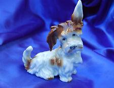 Porcelain Germany Scottie Scottish terrier Cairn Norwich dog character!!