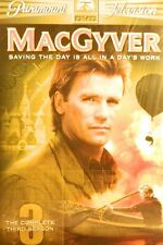 Macgyver The Complete Third Season 20 Episodes 15+ Hours of Action 5-Disc Sealed