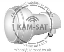 SINGOLO LNB OTTICI UNIVERSAL Freesat cyfrowy WARSAW cyfra NC + Sky
