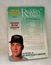 READER'S DIGEST 1997 AUGUST CAL RIPKEN, JR;FBI;MANATEEE;ELECTION;BIRTHCONTROL