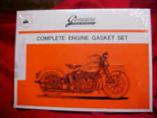 Harley, Pan head, new James  complete engine gasket set, 48-65
