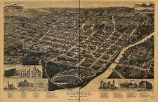 Georgia Vintage Panoramic Maps Collection On Cd