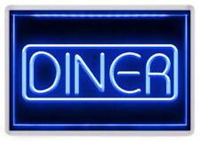 Diner Neon Sign Fridge Magnet. NEW. Retro Americana