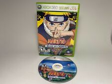 MINT Naruto: Rise of a Ninja (Microsoft Xbox 360, 2007) No Manual
