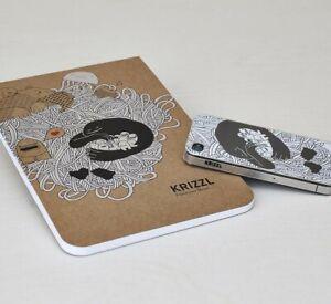Krizzl Iphone 4 Rahmen Ihre Skizze Phone Case Set Löschen