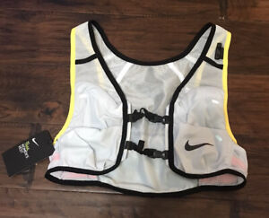 Nike Women's Running Trail Vest Aura/Diffused Blue/Speed Yellow/Black Sz. S NEW