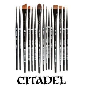 Citadel Brushes-Base, Dry, Shade, Layer or Glaze Games Workshop Individual Brush