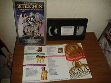 BITELCHUS TIM BURTON Beetlejuice The Maitlands BEETLE JUICE 1988 VHS PAL ESPAÑA