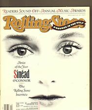 #599 MARCH 7 1991 ROLLING STONE vintage music magazine -- SINEAD O'CONNER