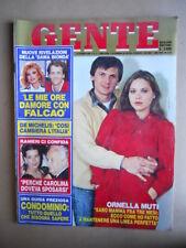 GENTE n°4 1984 Ornella Muti Raffaella Carrà Falcao Dama Bionda [Q10]