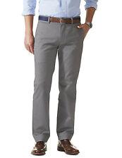 DOCKERS Saturday Khaki D3 Classic Fit Chinos Pants Grey  38 x 30 NWT $58