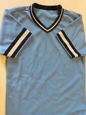 NOS Vtg '80's Wilson Baseball Jersey Size Adult Small Blue Navy White USA