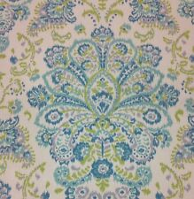"""MAGNOLIA HOME PROVENCE OCEAN FLORAL CURTAIN FURNITURE FABRIC BY THE YARD 54""""W"""