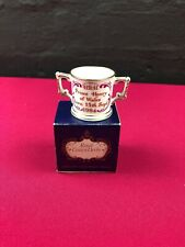 Royal Crown Derby - Derby Posies Prince Henry Birth Miniature Loving Cup Boxed