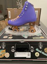 Moxi Beach Bunny Skates Women Roller Skates | Periwinkle Sunset, Purple | Size-8