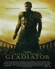 """GLADIATOR MOVIE POSTER PRINT RUSSELL CROWE WHAT WE DO IN LIFE 24""""x36"""" NEW"""