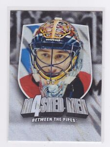 2011-12 Between The Pipes-Masked Men IV-Silver Parallel #'d /90-Luongo #MM28