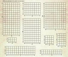 Tim Holtz Visual Artistry Acrylic Grid Blocks for Stamps - 9 Sizes