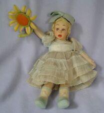Antique Lenci Cloth Doll Mascotte