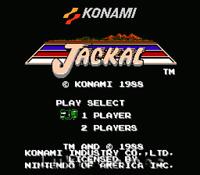 Jackal - NES Nintendo Game