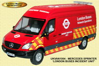 NORTHCORD MERCEDES BENZ SPRINTER VAN LONDON BUSES-UKVAN 1004