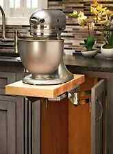 Full Height Base Cabinet Heavy Duty Mixer Lifter Shelve Rev Kitchen Organizer