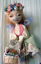 """*NEW* Cloth Folk Art Doll Pattern /""""Lacey Love Bug/"""" By Shelley Hawkey"""