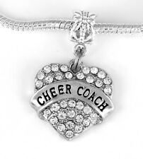 Cheer coach Pendent Huge sale Cheerleader coach charm cheering (charm only)