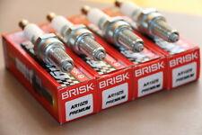 ►4X BRISK AR10ZS Zündkerze SUZUKI GSF600 BANDIT K1-K4=IU27,U27ESR-N,U27ESR-NB
