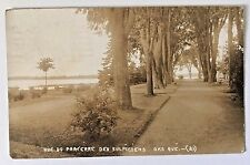 OKA QUEBEC, CANADA 1920 Real Photo Postcard Vue Du Parterre Des Sulpiciens