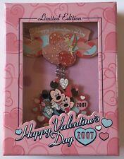 Disney WDW Happy Valentine's Day 2007 Jumbo Pin LE 500