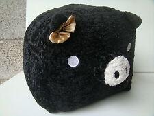 MONOKURO LOVE NERO BLACK PLUSH PELUCHE PUPAZZO ORIGINALE - NUOVO