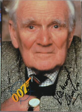 Q Desmond Llewelyn James Bond Autograph Trading Card Auto