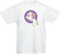 Unicorn 04 Children's Kids Personalised t-shirt Top Boys / Girls Christmas Gift